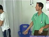 Gay Doc Fingering His Patient Butt