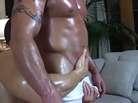Beefy Hunk Named Dean Gets Cock Sucked
