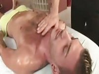 Ass Toyed Guy Gets Stuffed By Masseur