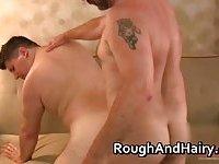 Hot nasty horny big cock fucking tight hairy ass
