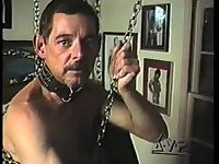 Guys In Leather Toying & Wanking