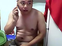 Japanese Guy Solo Wanking