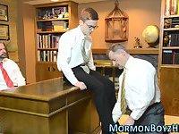 Elders shave mormons dick