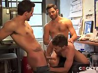 2 studs ruin an eager model boy
