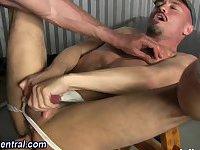 Muslcy stud raw dogs hole