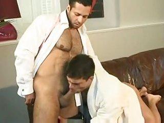 Sweet ass licking before sucking & fucking