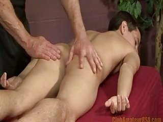 Gay Teen Gets Massage Of His Life
