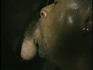 Hot Black Dude Sucking Off