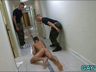 Lustful gay masseur goes wild