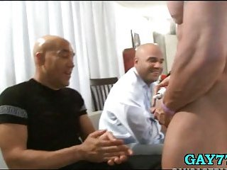 Party boys fucked by dick