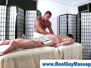 Check striaghty get hard for gay masseuse