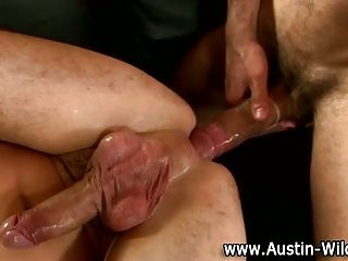 Austin Wilde rimjob and ass fuck action