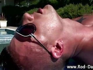 Sizzling hot gay pornstar