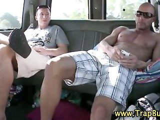Straighty gay cumshot action