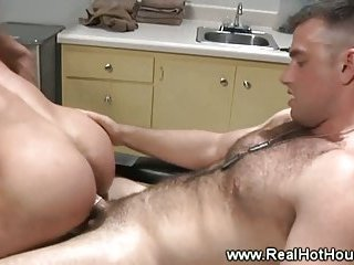 Army guys butt fucking together and cant get enough