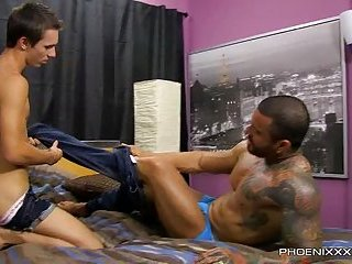 Jacobey Gets Railed by Alexsander