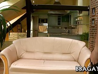 Sexy Guys Making Out On A Couch
