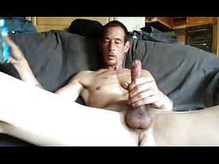 Smoking Dude Wanking On Cam