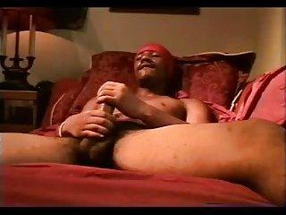 Naughty Ebony Thug Wanking