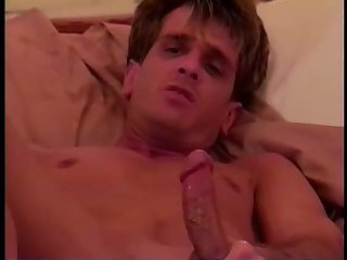 Gay cock jerked and ass fingered