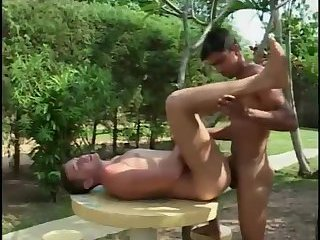 Teen Guys Shameless Fuck Outdoor