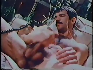 Solo Vintage Guy Masturbation