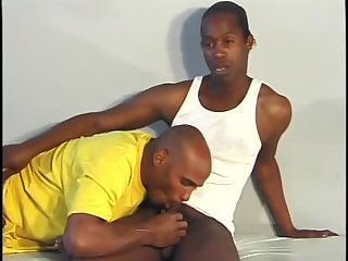 Black Gay Guys Sucking & Fucking