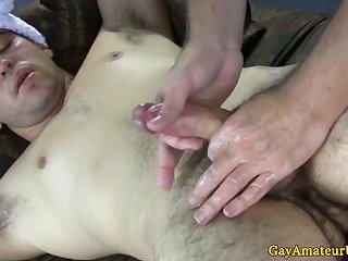 Straight amateur jocks thick cock jerked