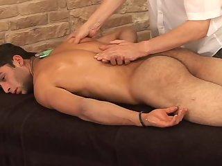Cute Guy Gets Massage