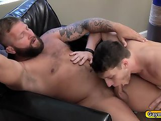 Colby is fucking Pauls anal bareback with big dick